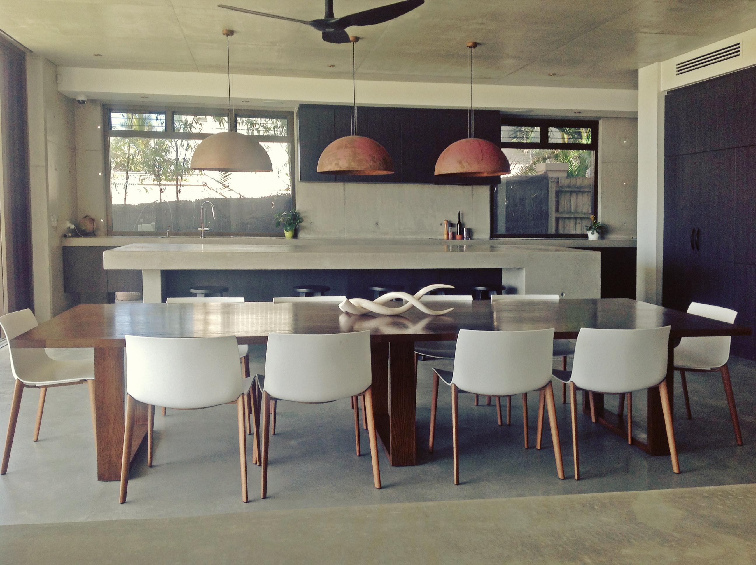 Custom Built Solid Oak Table