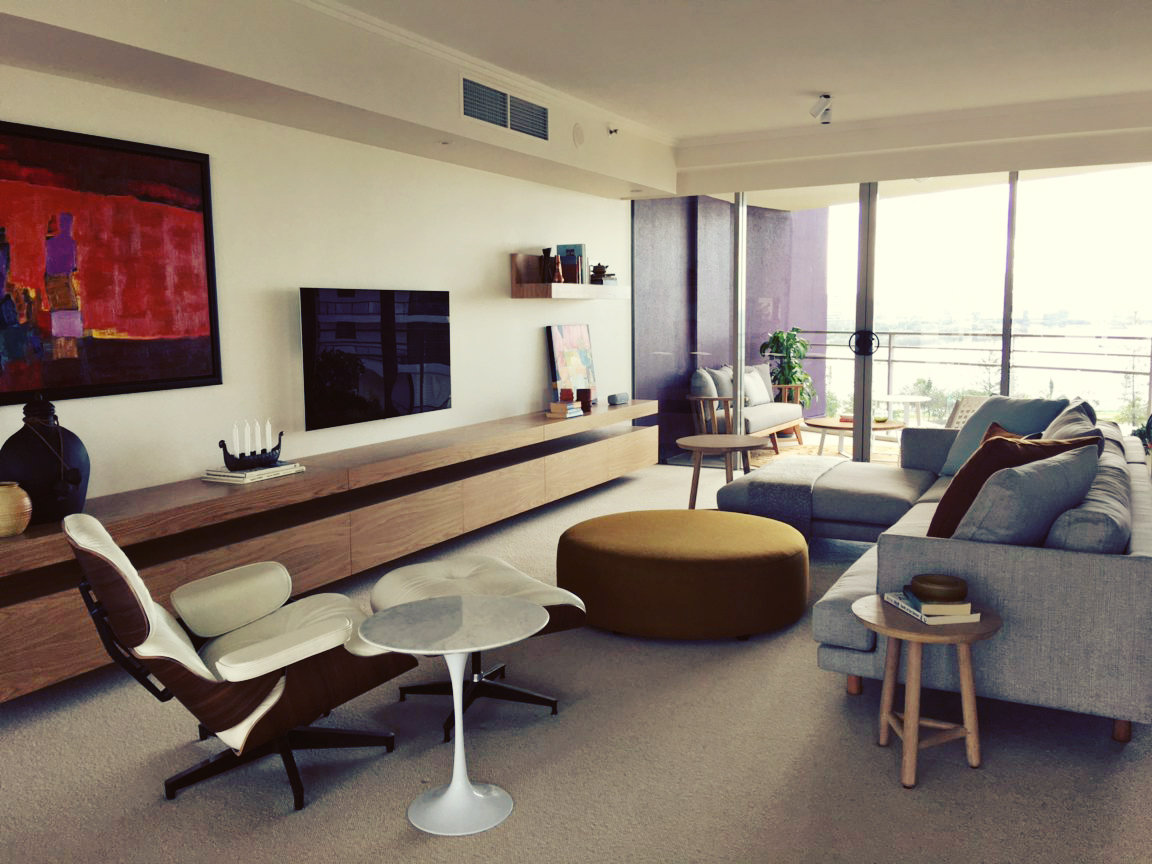 The Unit Was Designed By Gary Hamer From Interiors