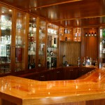 Solid Timber Rosewood Bar - Main View